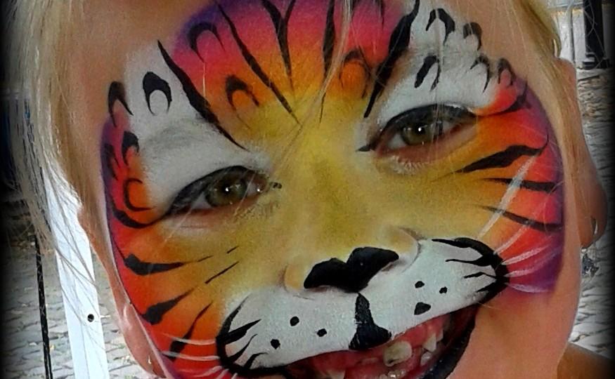 schmink tijger