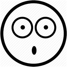 Emoticon verbaasd