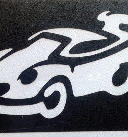 glitter tattoo auto