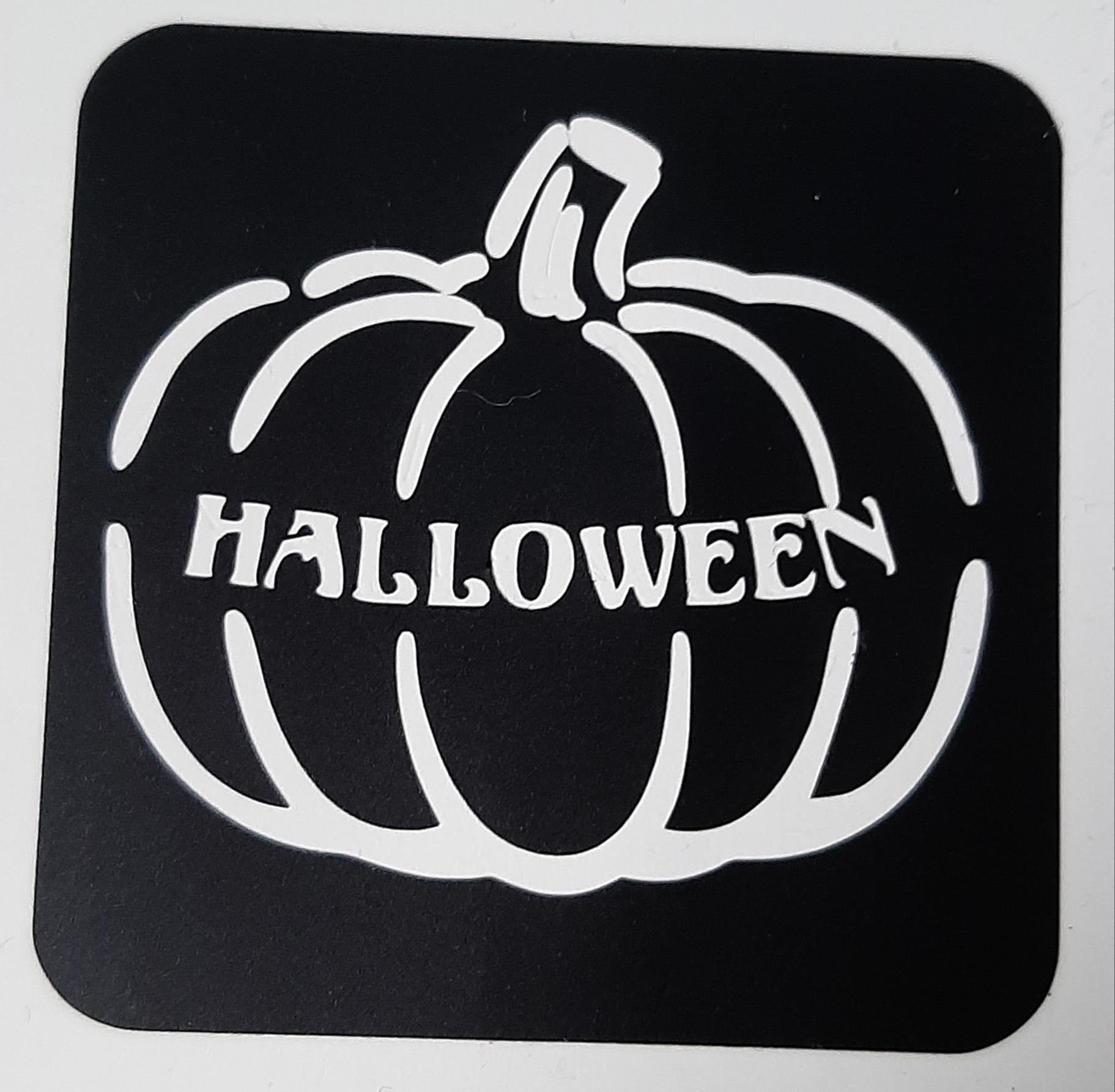 pompoen met halloween