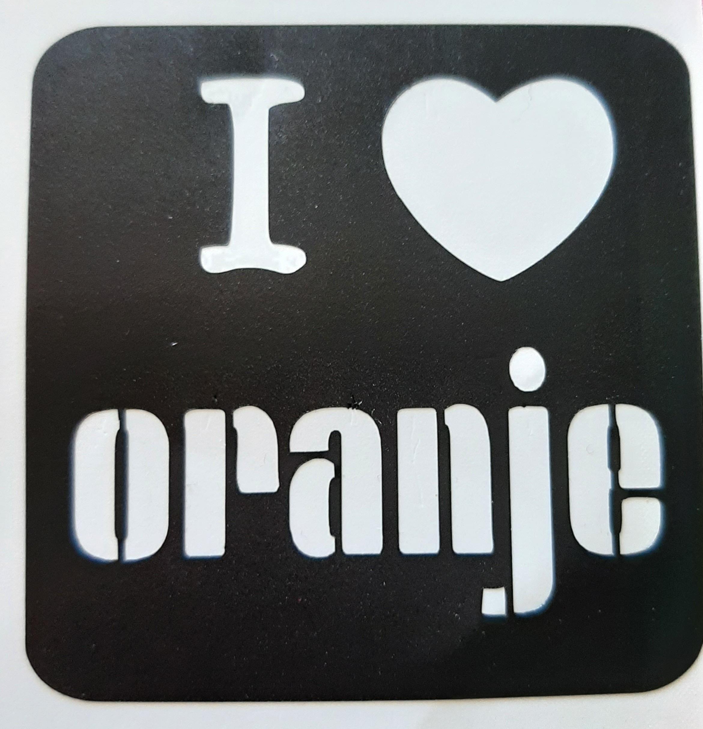 I love oranje